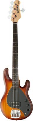 Sterling by Music Man SUB Ray 5 honey burst satin