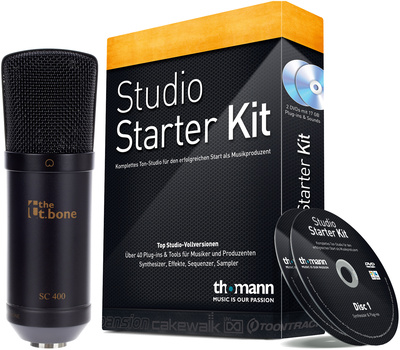 the t.bone SC 400 Software Bundle