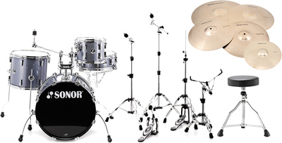Sonor Players SSE13 Black Bundle