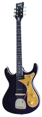 Eastwood Guitars Sidejack DLX Mardi Gras