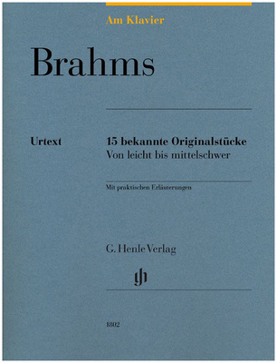 Henle Verlag Am Klavier Brahms