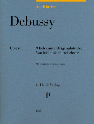 Henle Verlag Am Klavier Debussy