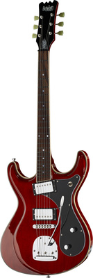 Eastwood Guitars Sidejack HB DLX Cherry