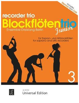 Universal Edition Blockflötentrio Junior Vol.3