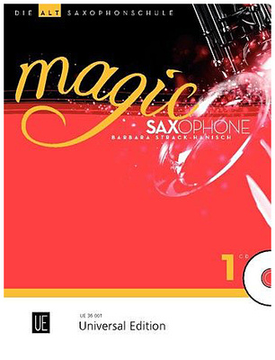 Universal Edition Magic Saxophone Vol.1 A-Sax