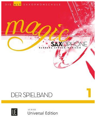 Universal Edition Magic Spielband Vol.1 A-Sax