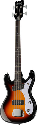 Eastwood Guitars Hi-Flyer Bass Sunburst