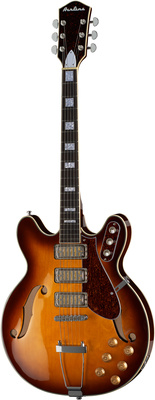 Eastwood Guitars Airline H77 Honeyburst