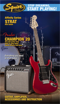 Fender SQ Affinity HSS/Champi B-Stock