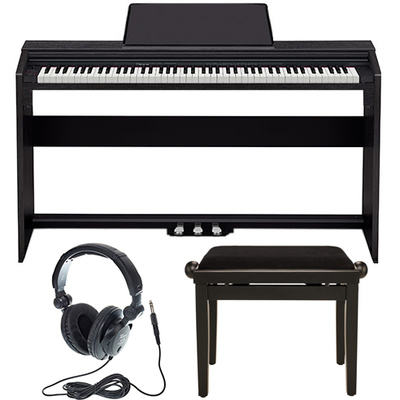 Casio PX-160 BK Privia Deluxe Bundle