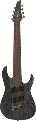 Ibanez RG-8 Fanned Fret Iron Label