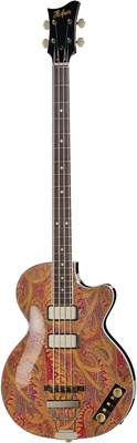 Höfner Club Bass Paisley Limited