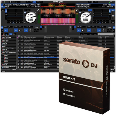 Serato DJ Club Kit (Box Version)