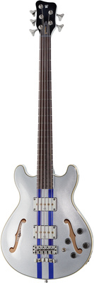 Warwick RB StarBass 5 Racing Silver