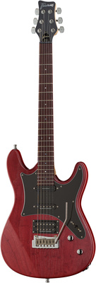 Framus Diablo GPS Burgundy Red Satin