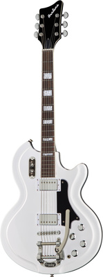 Eastwood Guitars Airline 59 Coronado DLX White