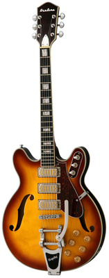 Eastwood Guitars Airline H78 Honeyburst