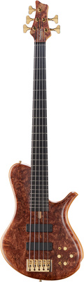 Marleaux MBass 5 Quilted Bubinga