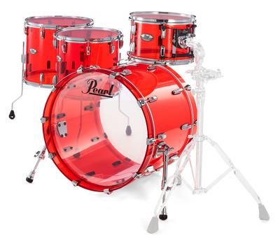 Pearl Crystal Beat Rock Ruby Red