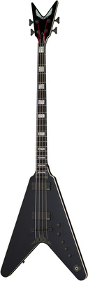 Dean Guitars V Stealth Bass EMG Black Satin