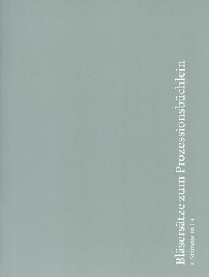 Echter Verlag Bläsersätze Prozession 1 Es