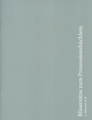 Echter Verlag Bläsersätze Prozession 2 B