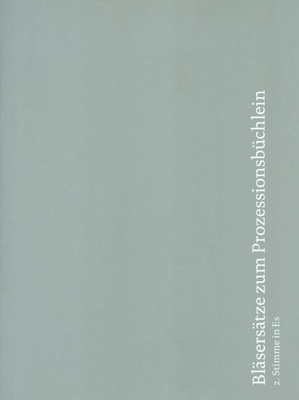 Echter Verlag Bläsersätze Prozession 2 Es