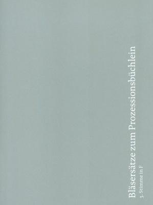 Echter Verlag Bläsersätze Prozession 3 F