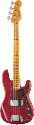 Fender 59 P-Bass Relic Dakota Red