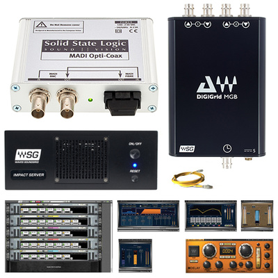 Waves SG Impact Bundle Soundcraft VI