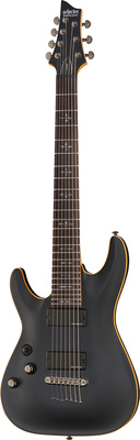 Schecter Demon 7 satin black Left