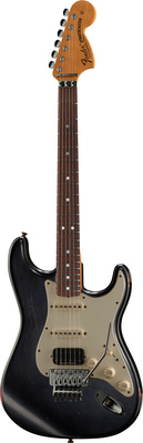 Fender 69 Strat Relic Floyd RW BKoDR