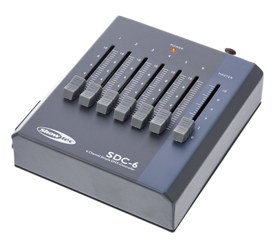 Showtec SDC-6 DMX controller B-Stock