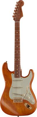 Fender Flamed Mahogany Strat CC MBDW