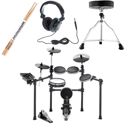 Millenium MPS-425 E-Drum Mesh Set Bundle