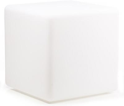 Varytec LED Cube & Seat White  B-Stock