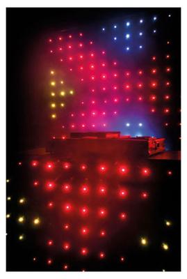 Showtec Visiondrape DJ Curtain B-Stock