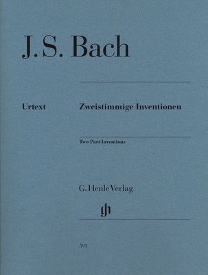 Henle Verlag Bach Two Part Inventions