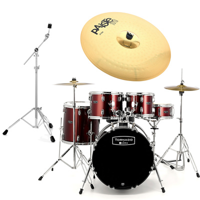 Mapex Tornado Junior Bundle Red
