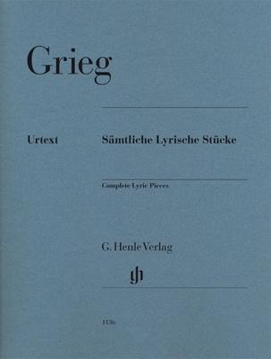Henle Verlag Grieg Complete Lyric Pieces