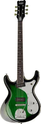 Eastwood Guitars Sidejack Baritone DLX TREM GB