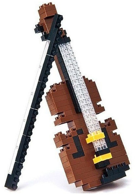 Music Sales Nanoblock: Violin