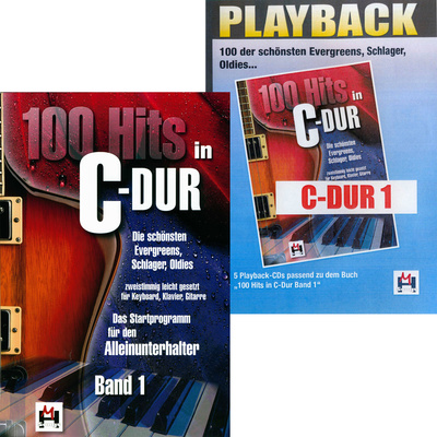 Musikverlag Hildner 100 Hits in C-Dur Vol.1 Set