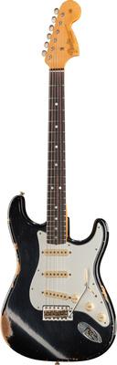 Fender 1967 Heavy Relic Strat BLK