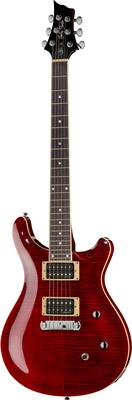 Harley Benton CST-24 Black Cherry Flame DLX