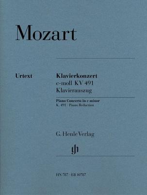 Henle Verlag Mozart Piano Concerto KV491
