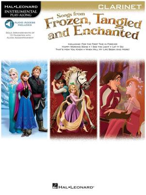 Hal Leonard Frozen Tangled Clarinet