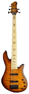 Franz Bassguitars Merak 5 Curly Maple