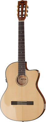 Kala Thinline Spruce Nylon