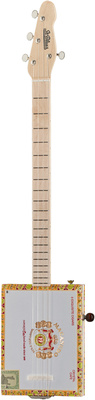 St.Blues Cigar Box Guitar 4 STD LH